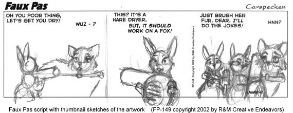 Script & thumbnail sketch for FP-149